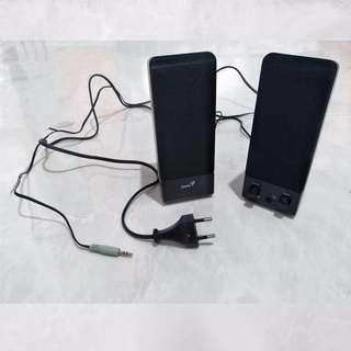 Genius SP-S110 Wired 2.0 Stereo Speaker System