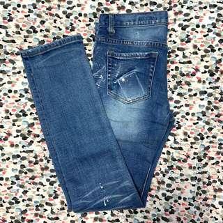 Korean style Skinny Jeans 牛仔長褲