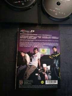 🚚 DVD good working condition Initial  D movie