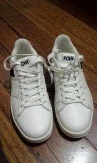 Pony white shoes