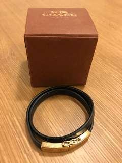 Coach Leather Bracelet (Authentic)