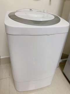 迷你半自動洗衣機7kg容量(原價3xx)
