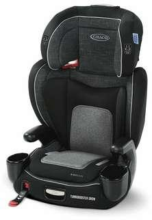 🚚 Graco TurboBooster Grow Highback Booster Featuring RightGuide Seat Belt Trainer