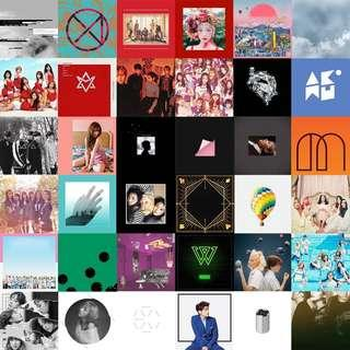 [PO] Kpop albums *Please join tele chat*