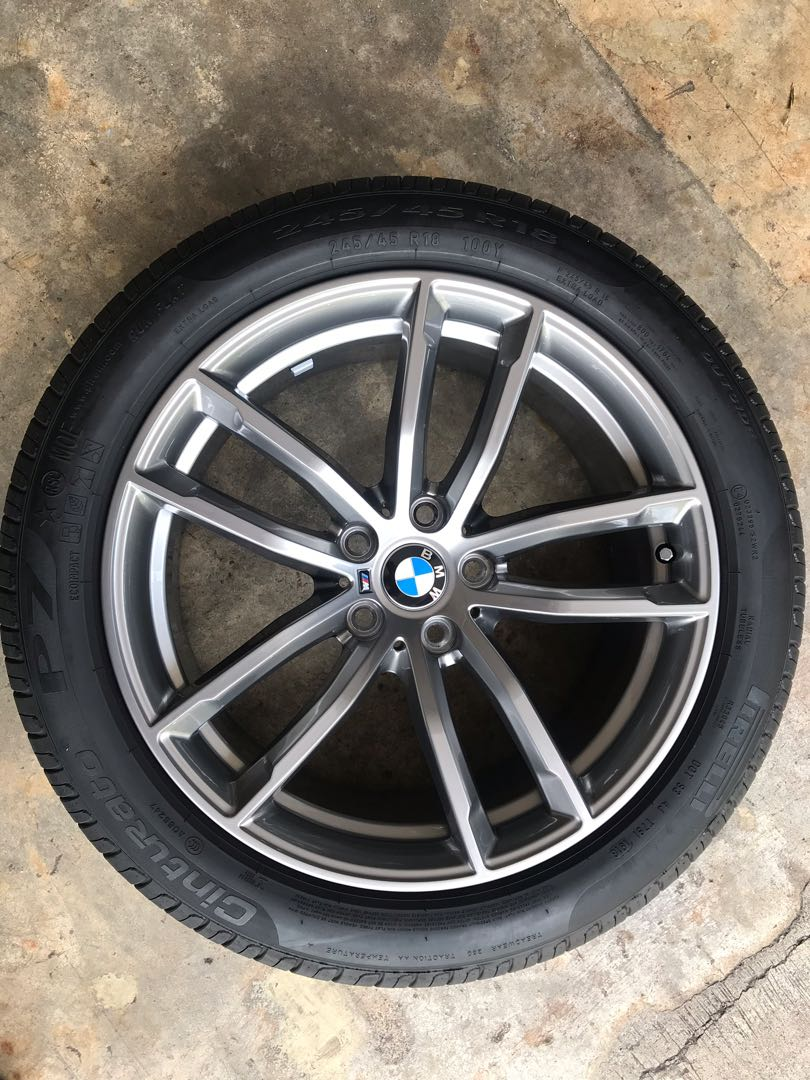 18 Bmw G30 M Sport Rims With Tyres