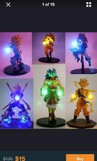 🚚 Dragon ball figurines