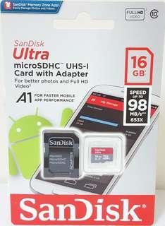 🚚 Memory 16GB/記憶卡的話是micro SD 16GB+SD的轉接卡