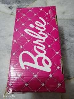 size 1 : Barbie school shoes