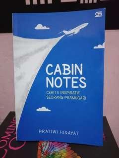 (PRELOVED) Cabin Notes