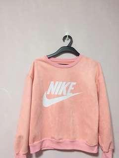 Nike Peach Pullover