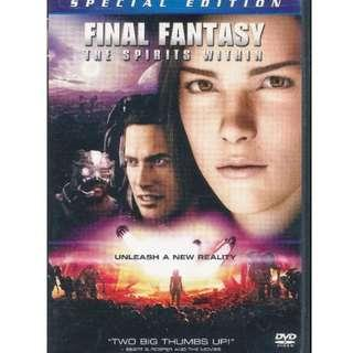 Final Fantasy - The Spirits Within (Special Edition)  (2-DVD) CODE 1 DVD *