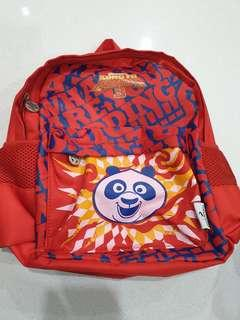 Kung fu panda Small Backpack -Red Tesco Limited Edition