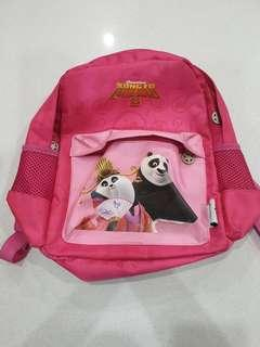 King Fu Panda Small Backpack- Pink Tesco Limited Edition