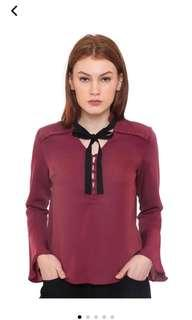 The Executive Bow Tie Blouse