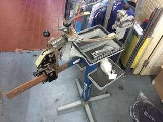 Stringing machine Manual (badminton/tennis) old