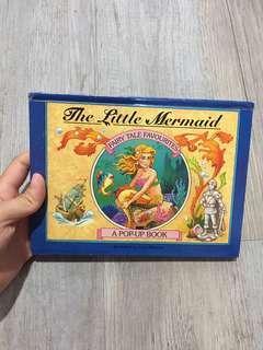 Buku anak timbul little mermaid putri duyung