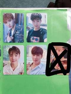 monsta x changkyun shownu shine forever the connect encore photocard pc