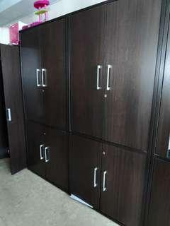 High Filing Cabinet with Doors