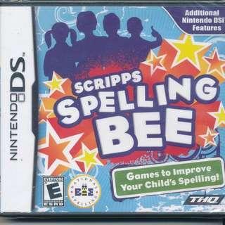 Nintendo DS - Scripps Spelling Bee (NEW)