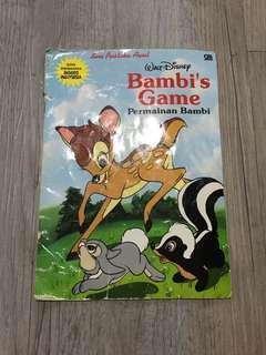Buku cerita anak bambi