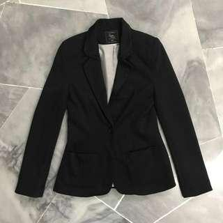 Cotton on black Coat