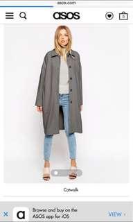 ASOS duster coat #swapAU