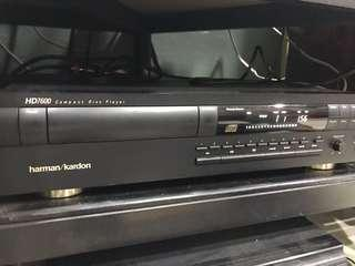 Harman/Kardon HD7600 Compact Disc Player