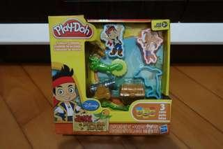 Jake and the Never Land pirates Play Doh 泥膠玩具