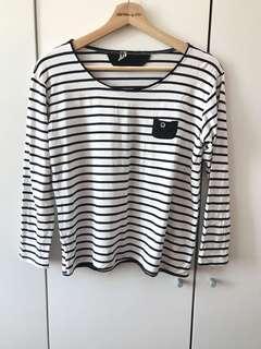 Stripe Crop Top