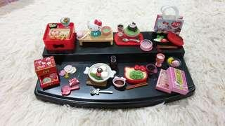 Hello Kitty collectibles, set of 8!