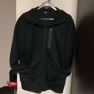 Uniqlo dry stretch full zip hoodie L size