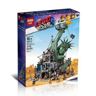 LEPIN™ 45014 The LEGO Movie 2 Welcome to Apocalypseburg