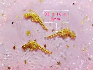 Brand new instock - Gold Dimensional Gun Charms