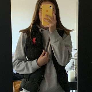 US Polo Assn Vest and Grey Jumper