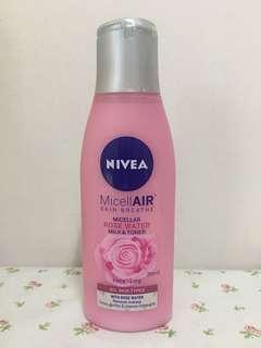 Nivea Micellair Cleansing Water Micellar Rose Water Toner