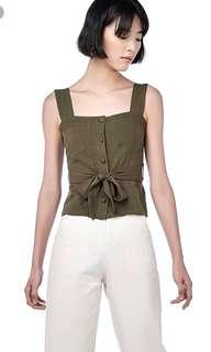 The Editor's Market Louis Belted Top