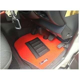TOYOTA HIACE OEM FITMENT CAR FLOOR MAT..PVC COIL MAT 2 PCS FRONT. COLOR AVAILABLE - BLACK RED,GREY ,BEIGE ,BROWN GREEN & BLUE...