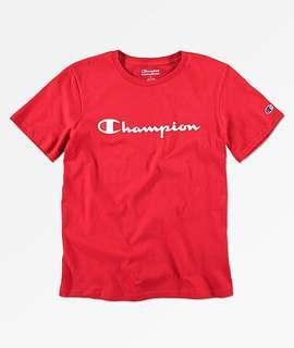 CHAMPION RED SHIRT