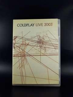 DVD COLDPLAY 2003 LIVE High Res Imported