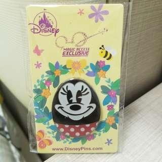 迪士尼 徽章 米尼 Disneyland 包平郵