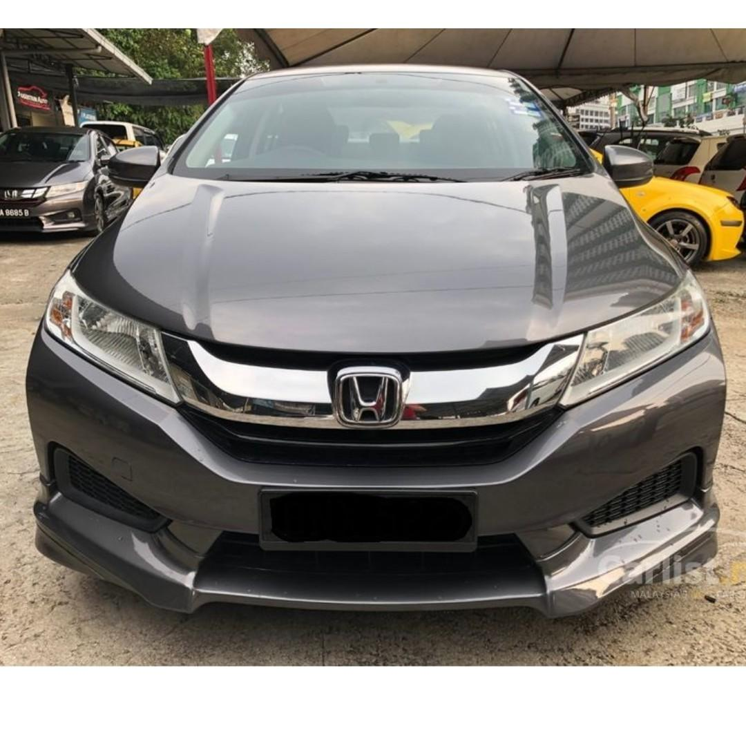 2016 Honda City 1.5 E (A) One Owner Modulo Bodykit Low Mileage-21K KM only.    http://wasap.my/601110315793/City2016