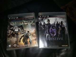 Resident evil dan starhawk