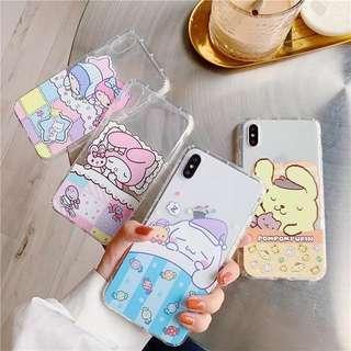 PREORDER Sleeping Sanrio Soft Phone Case