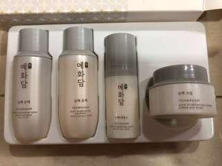 🚚 TheFaceShop Brightening Skincare kit