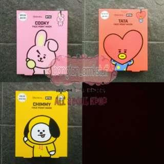 BT21 FACE POINT MASK OFFICIAL