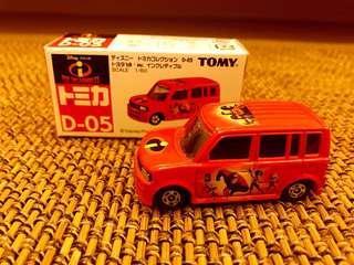 Tomy Tomica D-05 藍字 超人特攻隊 車仔 已絕版