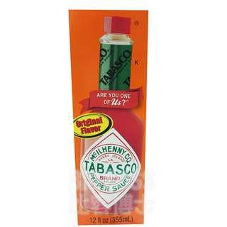 TABASCO 辣椒醬 美式辣醬 墨西哥辣椒醬 355毫升【BigBoss比客博士】好市多 Costco 代購 代買