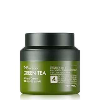 Tony Moly Green Tea Chok Chok Cream Moisturizer