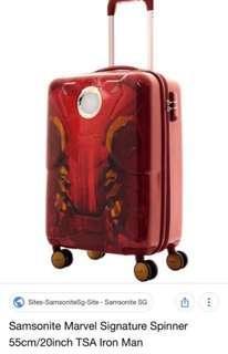 Samsonite marvel iron man luggage