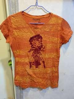 Betty Boop Orange Shirt